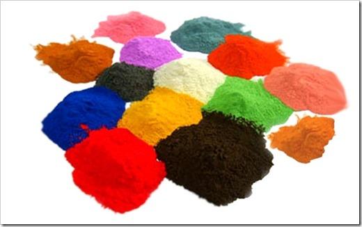 Разнообразные покрасочные материалы
