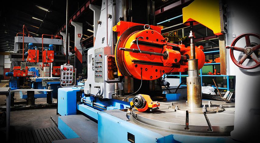 установке промышленного оборудования