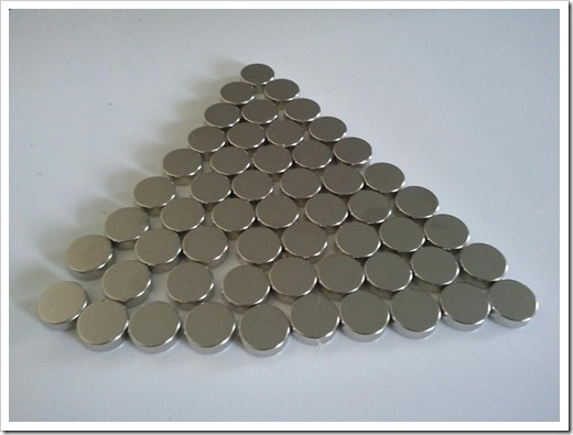 Использование магнитов-дисков
