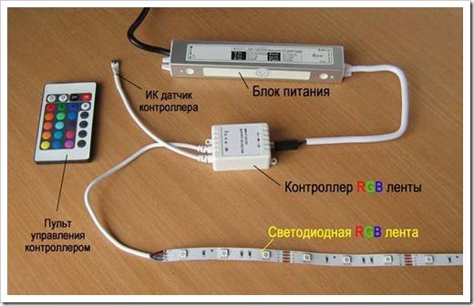 Необходимые инструменты для подключения светодиодной ленты