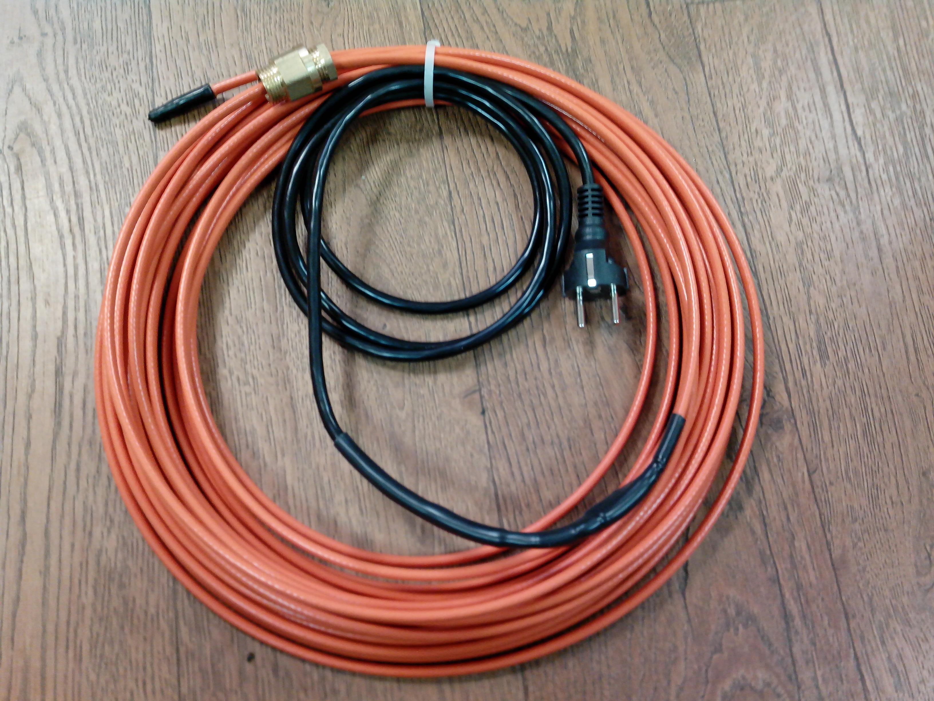 Что такое греющий кабель
