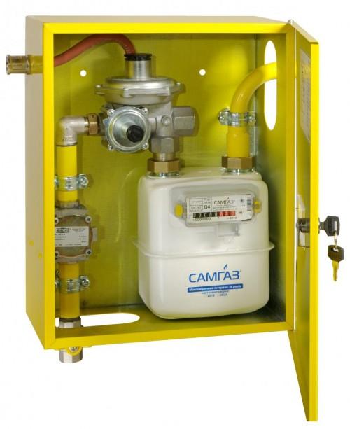 Как смонтировать газовый счетчик