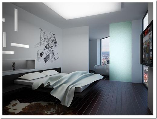Некоторые особенности электрической проводки в спальне
