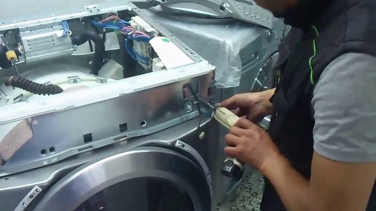 Начинаем ремонт стиральной машинки
