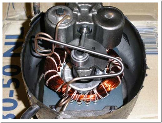 Измерение обмоток двигателя компрессора