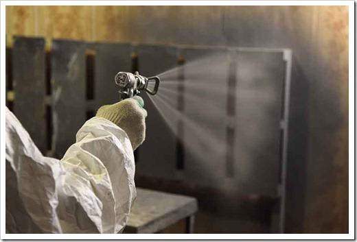 Использование лакокрасочных покрытий для огнезащиты металла