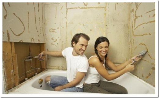 Ремонт в ванной комнате своими руками