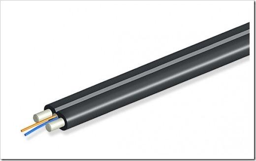 Монтаж самонесущего оптического кабеля