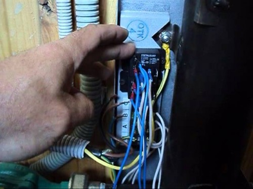 подключение электрокотла