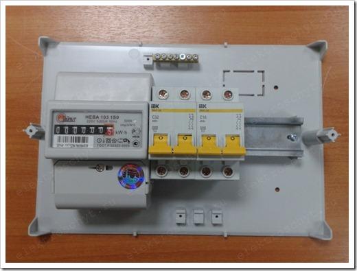 Наличие специального зажима у автоматического выключателя