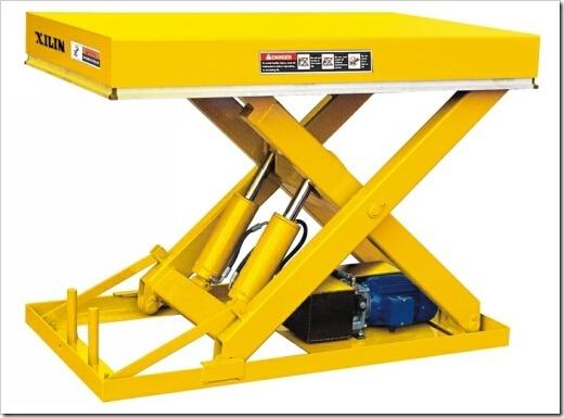 Преимущества использования подъёмных столов