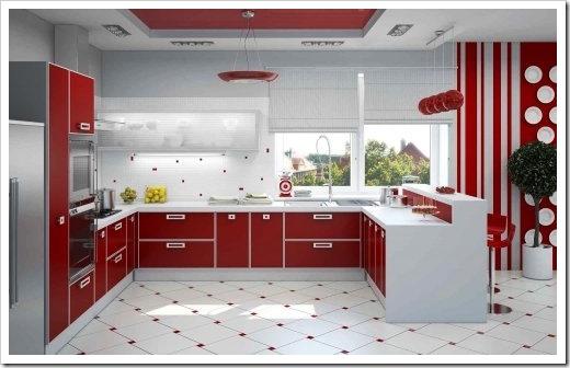 Белая кухня: плюсы и минусы