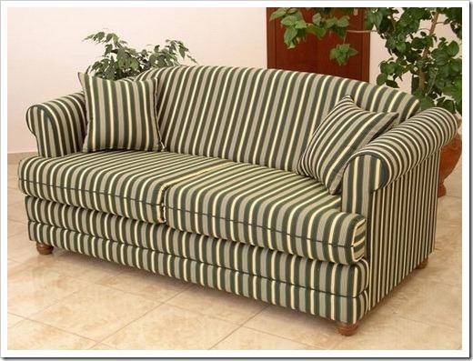 Велюр и мебельная рогожа – наиболее распространённые варианты