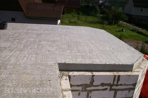 бетонное перекрытие