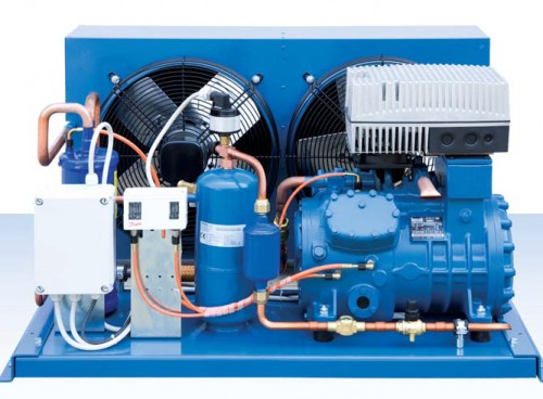 Монтаж холодильного агрегата