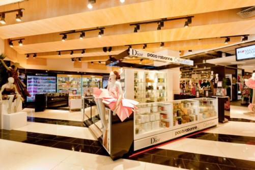 Виды планировки торгового зала