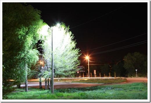Современные уличные светильники