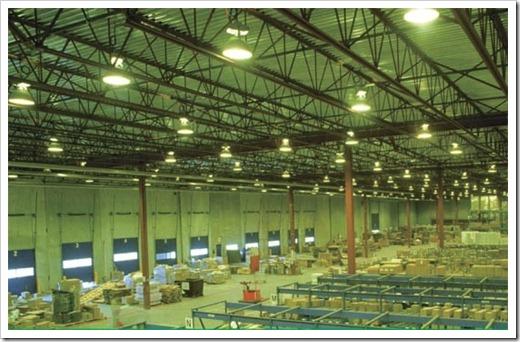 Различные виды конструкций промышленных светильников