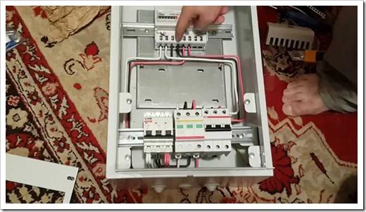 Монтаж электрощита в доме