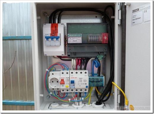 Принципы установки электрощита