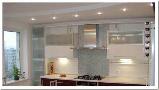 Основные проблемы освещения на кухне