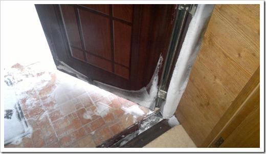 Невозможность взлома двери