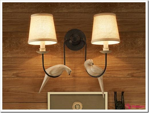 Что входит в комплект поставки настенного осветительного прибора?