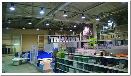 Внутреннее освещение для торгового зала