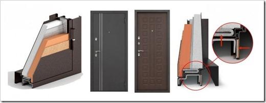 Из чего выполняется терморазрыв в двери?