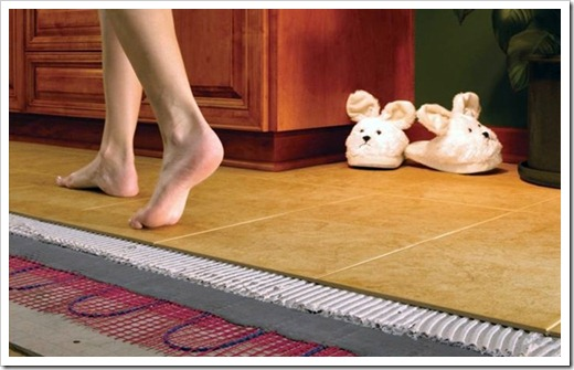 Важность сочетания напольного покрытия и тёплого пола