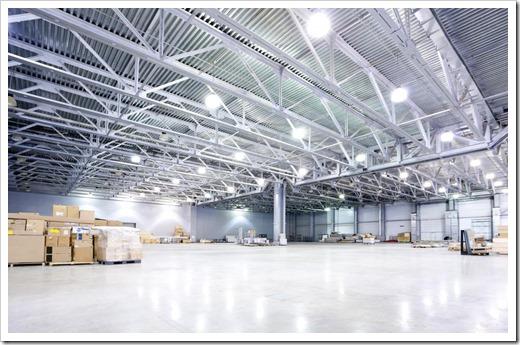 Продажа промышленных осветительных приборов