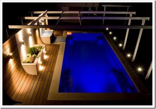 Нормы освещения бассейнов