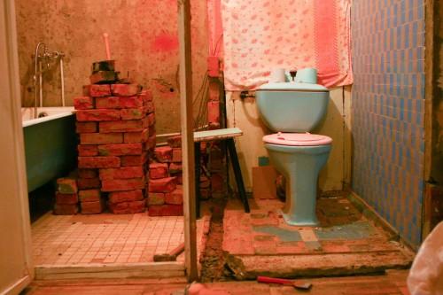 перепланировка ванны и туалета