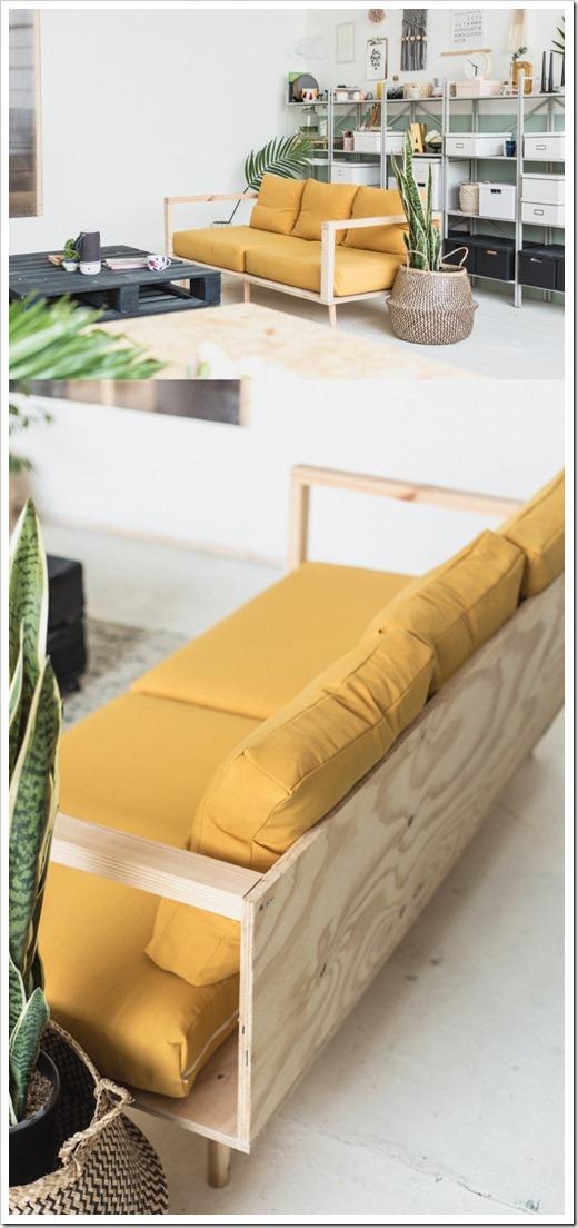 Возможность самостоятельного создания дивана