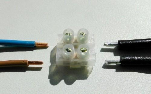Как соединить алюминиевый провод с медным
