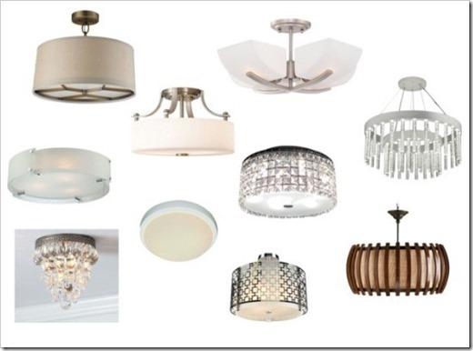 Современные виды люстр и светильников