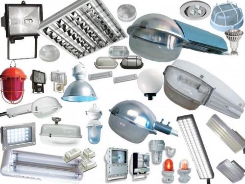 Виды светотехнического оборудования