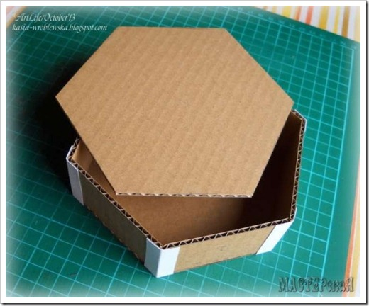 Изготовление крышки для коробки