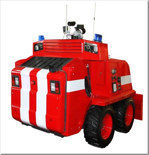 Современная техника на защите жизни пожарного