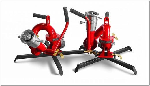 Технические характеристики лафетных пожарных стволов