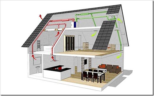 Стоит ли прокладывать вентиляционные каналы внутри перекрытий?