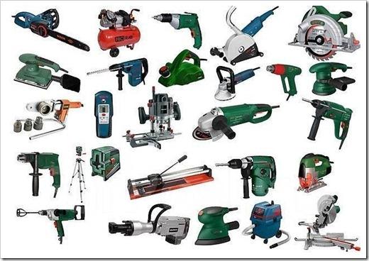Наиболее популярные электроинструменты у домашних мастеров