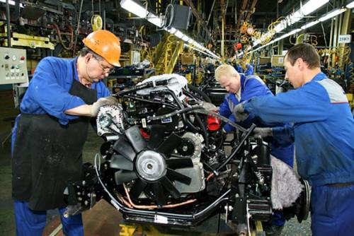 Развитие машиностроения в России