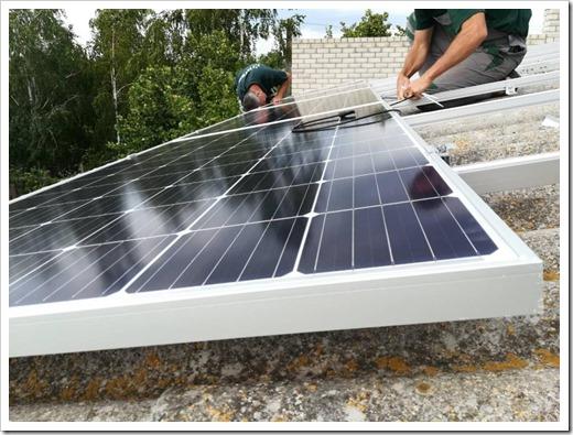 Солнечные батареи - как это работает?