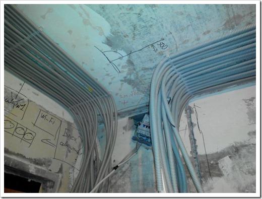Классификация электропроводки по способу монтажа