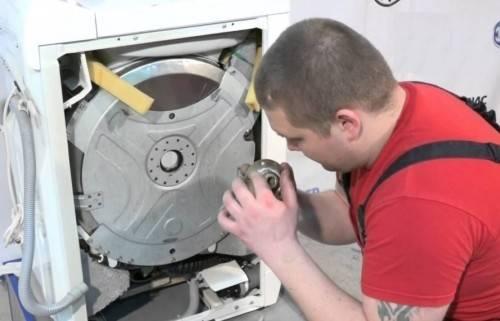 Как заменить подшипник в стиральной машине Аристон