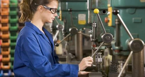 Девушка-рабочий