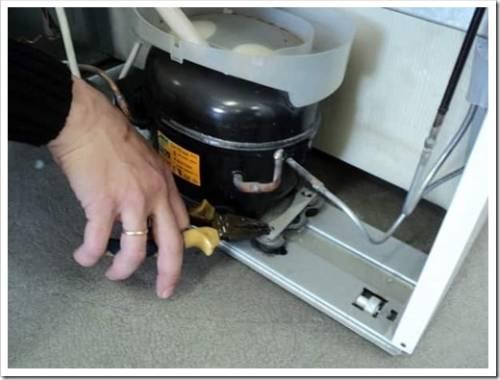 Выявление пробития изоляции обмотки компрессора