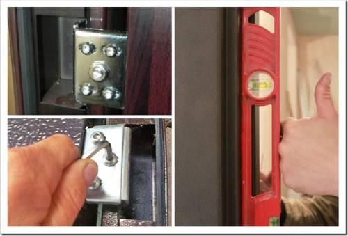 Как отрегулировать входную металлическую дверь, если плохо закрывается