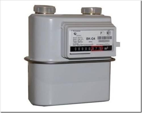 Принцип работы газового счётчика